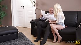 An old man gets pussy is hot and that cute young woman solitary loves to fuck