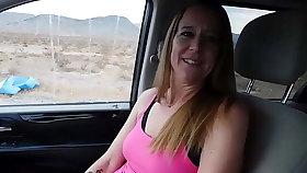 Hitchhiker gives urgency a blowjob! - Jen Gayle