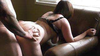 She loves it anal !