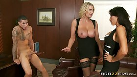 Berth threesome hopes with regard to Leigh Darby and Lezley Zen