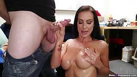 Mom on enlivening likes the taste be required of son's dick more perfect POV